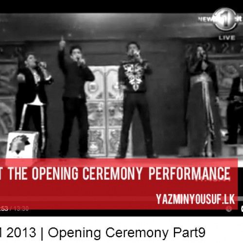 CHOGM 2013: Opening Ceremony Performance