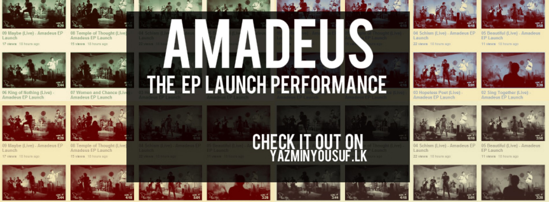 Videos From The Amadeus EP Launch