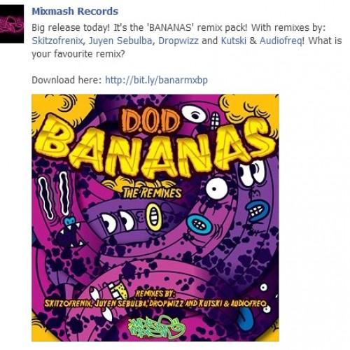 Get Dropwizz's Festival Trap Remix Of Bananas