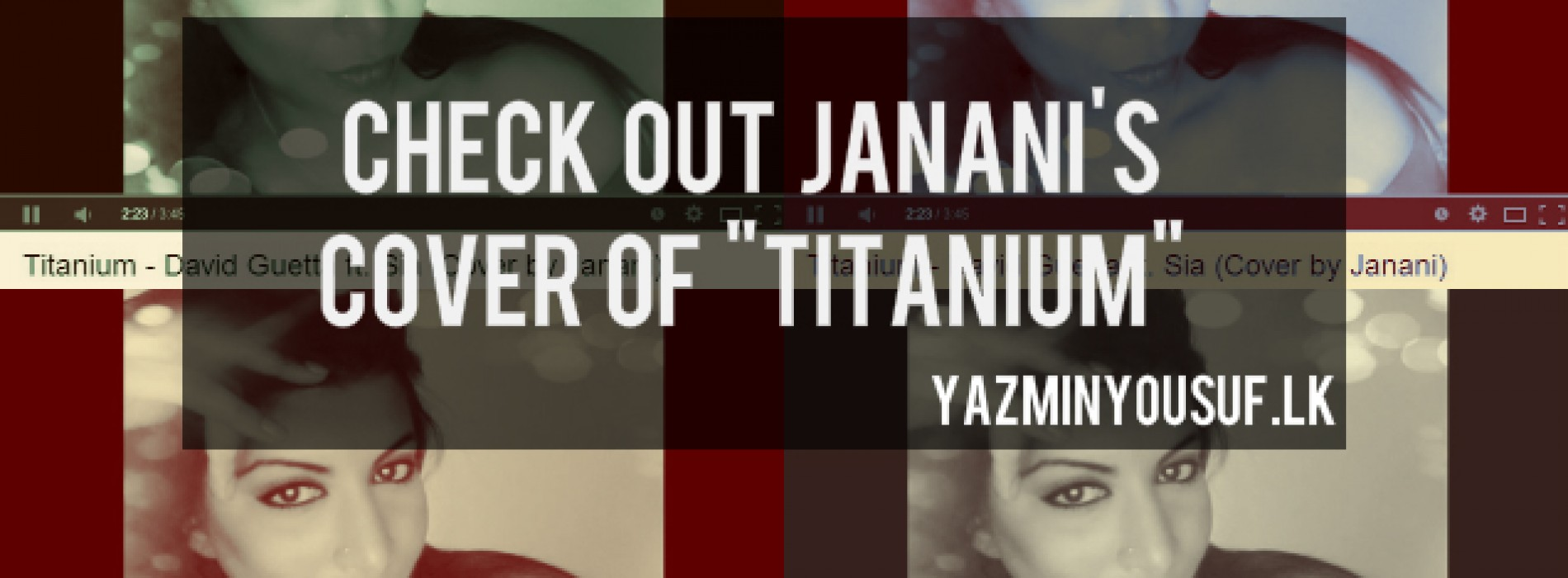 Janani Covers Titanium
