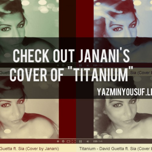 Janani Covers Titanium