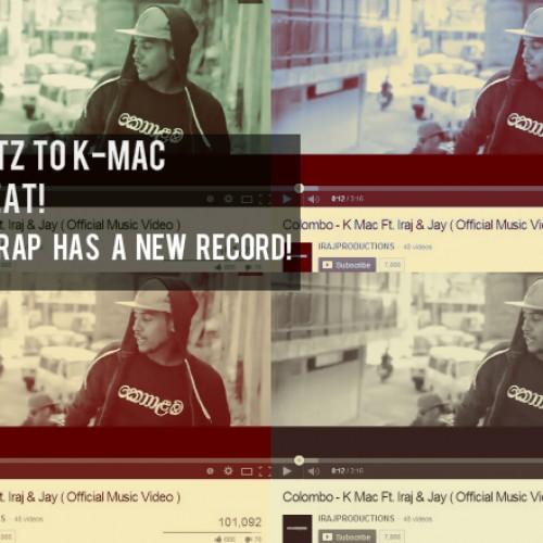 "K-Mac's ""Colombo"" Hits A Record For A Sinhala Rap Video"