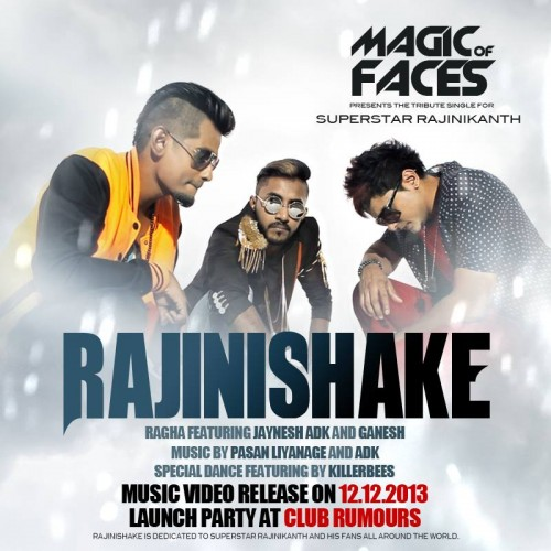 Rajinishake By Ragha Ft Dinesh Kanagaratnam, Jaynesh & Ganesh