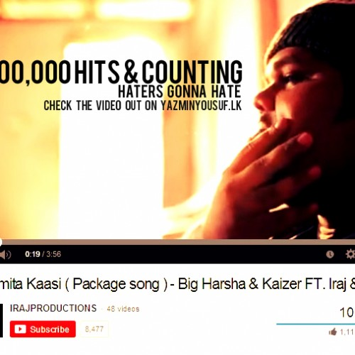 Congratz To Big Harsha On Reaching 100,000 Hits