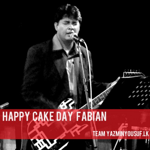 Happy Cake Day Fabian