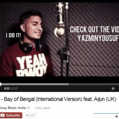 """Biriyani"" Bay Of Bengal: International Version Ft Arjun"