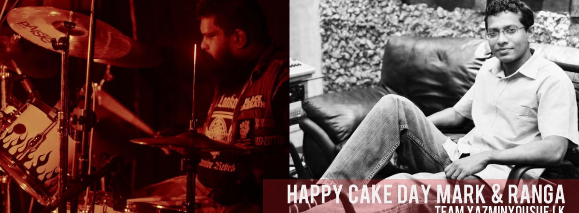 Happy Cake Day To Mark & Ranga