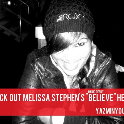 """Nuu Mujik: Melissa Stephen """"Believe"""""""