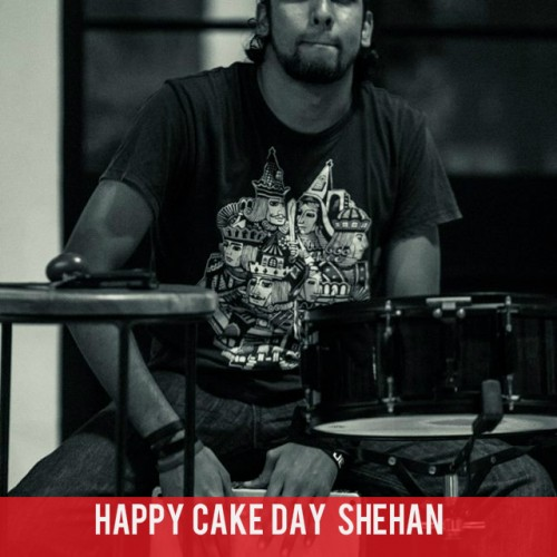 Happy Cake Day Shehan Rodrigo