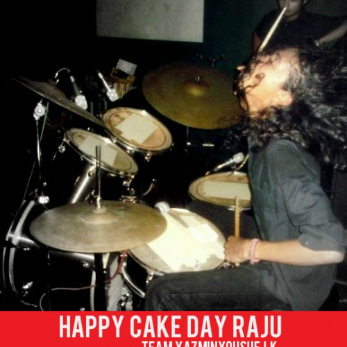 Happy Cake Day Thushtha Rajamuni