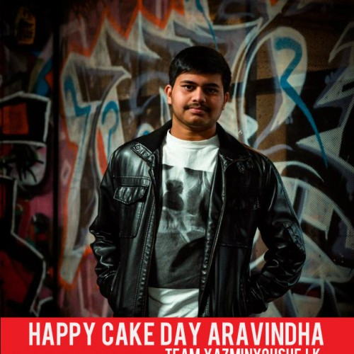 Happy Cake Day To Aravindha