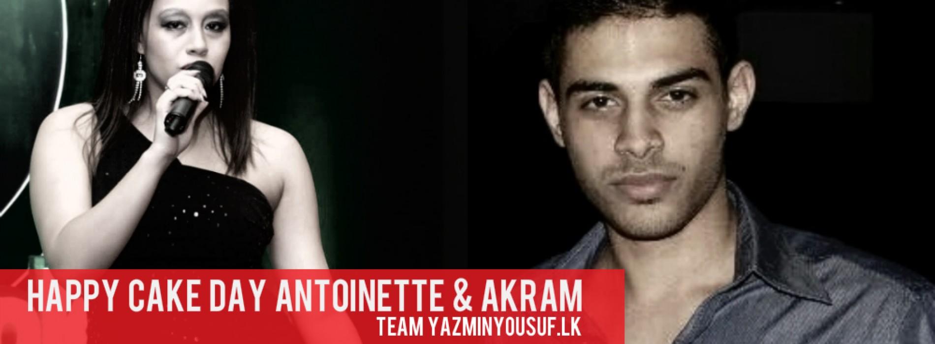 Happy Cake Day Antionette & Akram