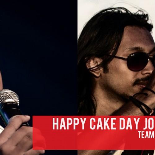 Happy Cake Day Derick & Joy