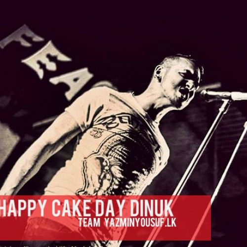 Happy Cake Day Dinuk