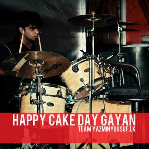 Happy Cake Day Gayan