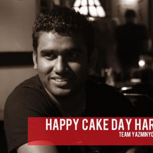 Happy Cake Day Harold