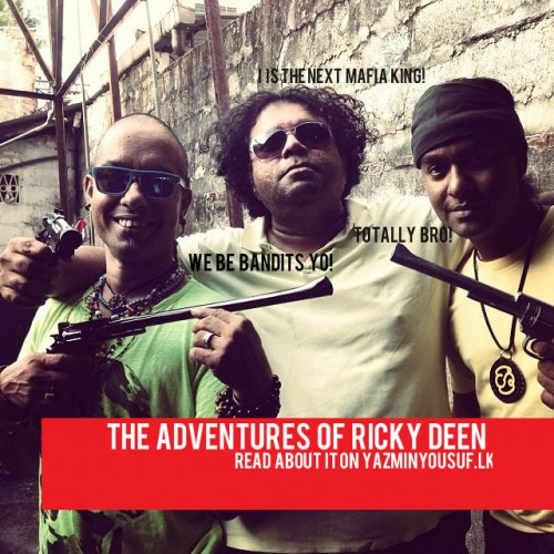 The Jayasri Twins & Buddhi De Mel In The Adventures Of Ricky Deen