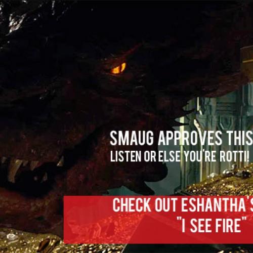 "Eshantha Perera Covers ""I See Fire"""