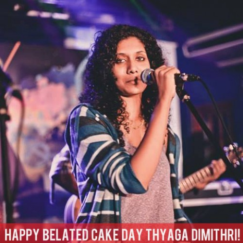Happy Belated Cake Day To Thyaga Dimithri