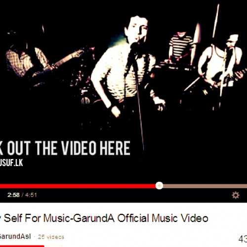 GarundA: I Kill Myself For Music-The Video