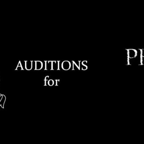 Phantom of the Opera: Auditions