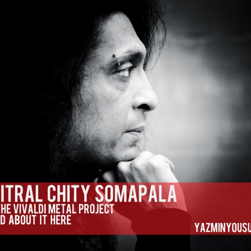 Chitral Somapala On The Vivaldi Metal Project