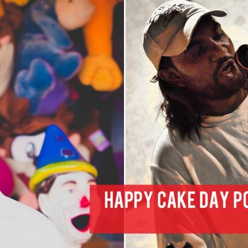 Happy Cake Day Porty & Shakya