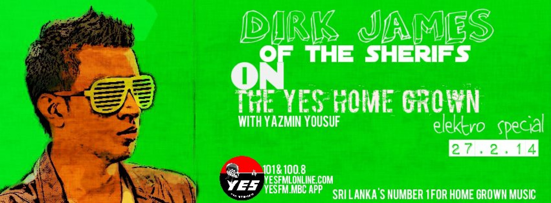 Dirk James On The YES Home Grown Electro Special