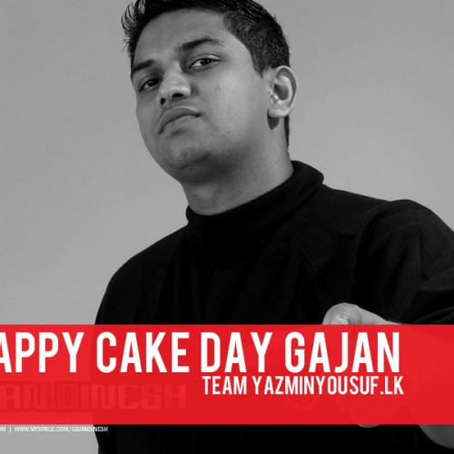 Happy Cake Day Gajan Maheson
