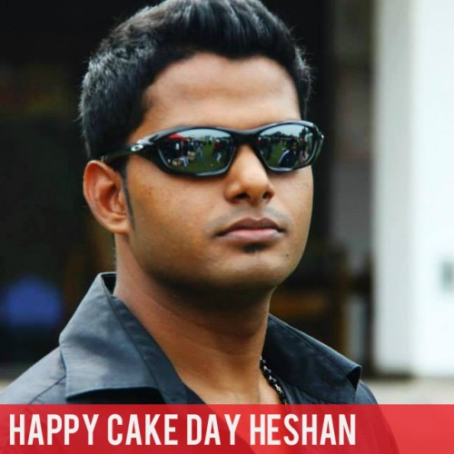 Happy Cake Day To Heshan Perera
