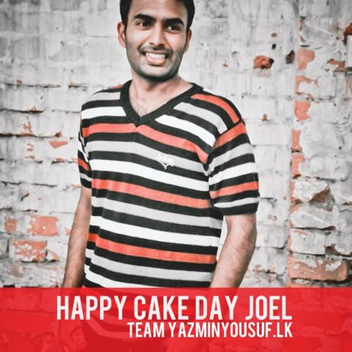 Happy Cake Day Joel