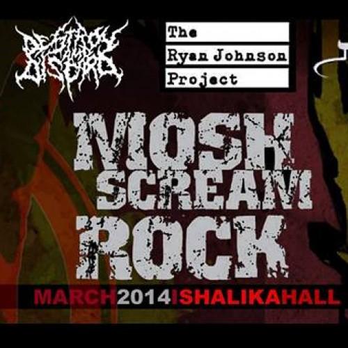 Mosh Scream Rock: March