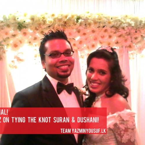 Congratz To Suran & Dushani
