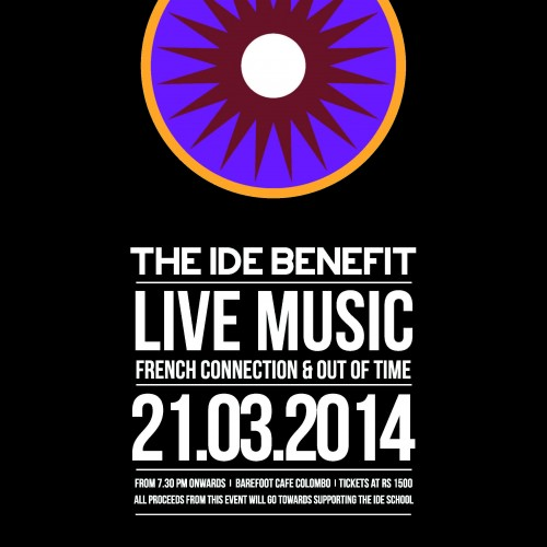 The IDE Benefit Concert
