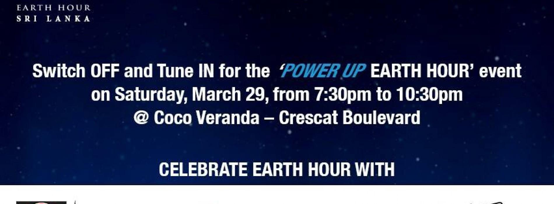 Earth Hour @ Coco Verandah