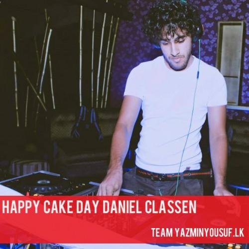 Happy Cake Day Daniel Classen