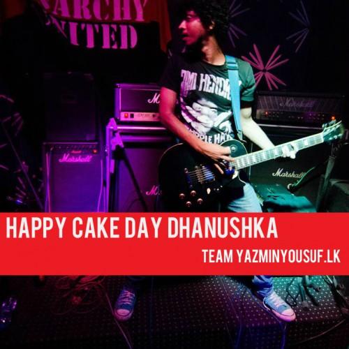 Happy Cake Day Dhanushka