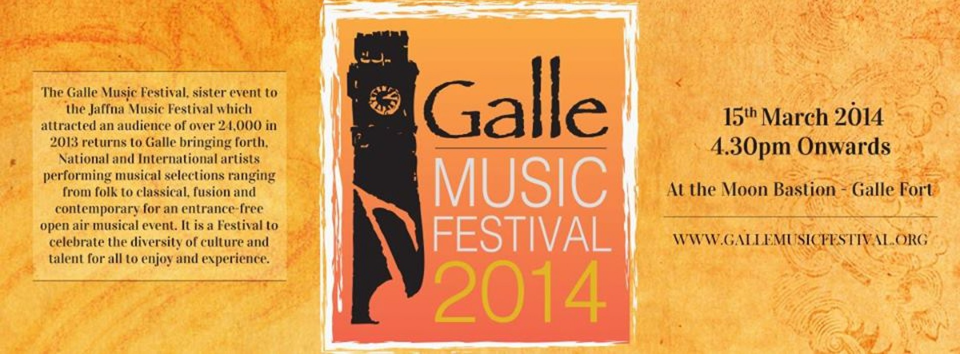 Galle Music Festival 2014: Galle
