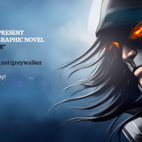 Sri Lanka's FIRST GRAPHIC NOVEL – The Grey Walker!