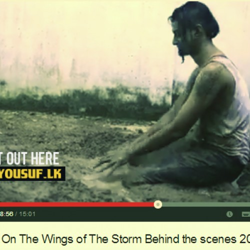 Stigmata On The Wings of The Storm: Behind the scenes