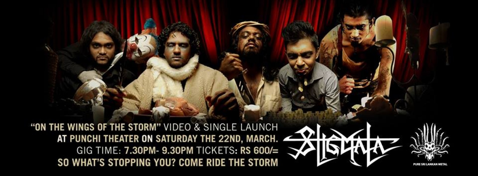 """""""On the Wings of the Storm"""" Official Video & Single Launch concert"""