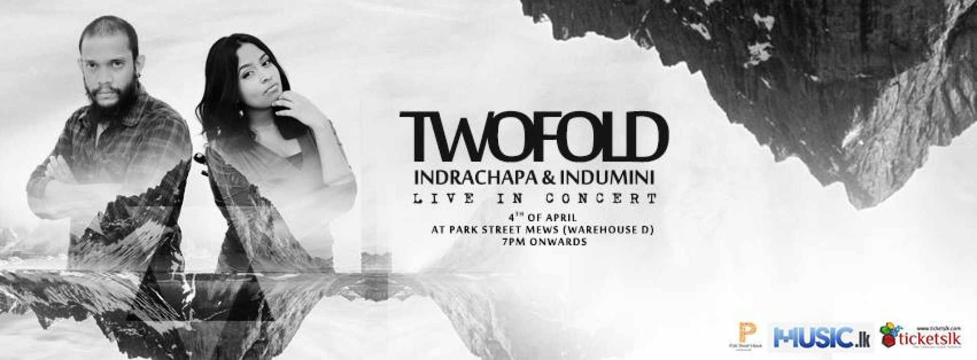 """"""" TWOFOLD """" Indrachapa & Indumini Live In Concert"""