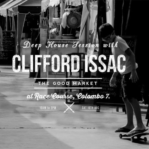 Clifford Issac At The Good Market