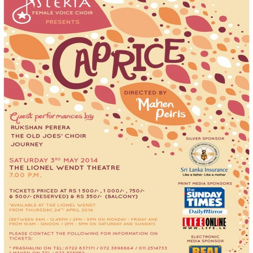 Caprice Presented By Asteria