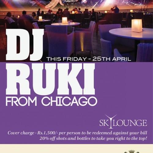 Ruki Live @ The Sky Lounge