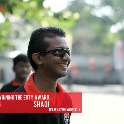 Congratz To Shaq On Winning This Years EOTY Award