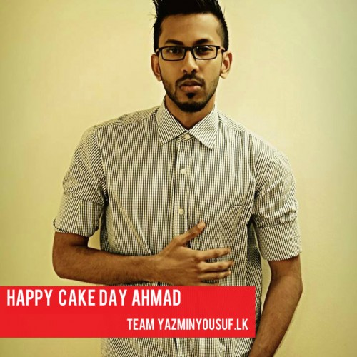Happy Cake Day Ahmad