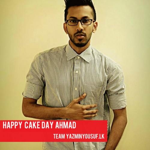 Happy Cake Day Ahmad