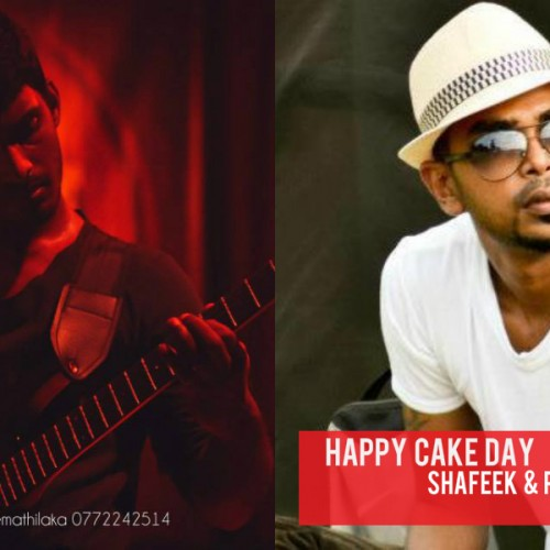 Happy Cake Day To Shafeek & Ray