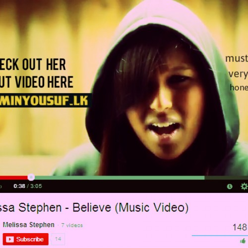 Melissa Stephen: Believe The Video